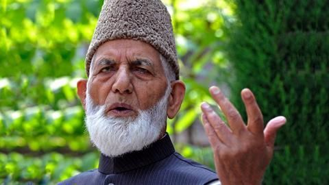 Terrorist financing: NIA questions Syed Ali Shah Geelani's sons