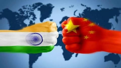 The ongoing war of words between India and China