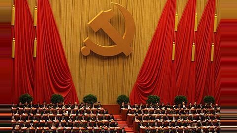 How does the Chinese Communist Party view religion?