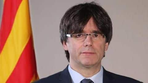 Catalan President appears in Brussels after getting sacked