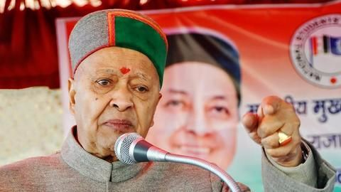 Virbhadra Singh doles out goodies ahead of elections