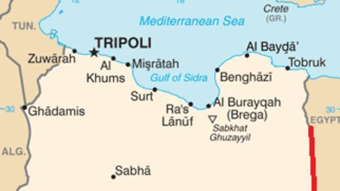 Haftar probably intends to control the eastern coast