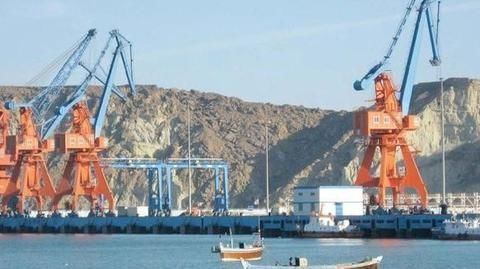 Why is the Gwadar port important to China and Pakistan?