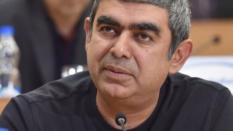 Sikka, Infosys  and the looming Q4 results