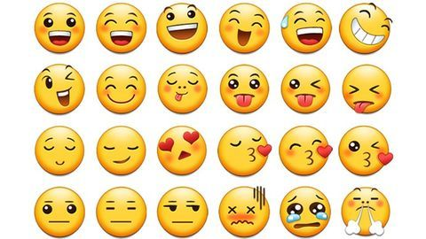 Emojis fit right into our modern-day conversations