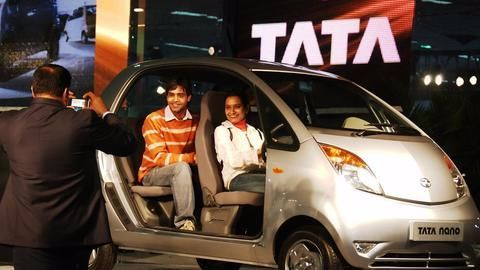 Tata Nano may stage a comeback, as an electric car