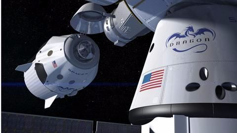 SpaceX and Boeing - spacecraft/shelter/lifeboat