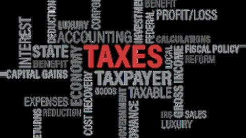 Filing taxes, what to look out for