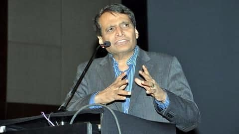 Suresh Prabhu plans to monetize IR data without violating privacy