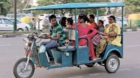E-rickshaw charging points to be set up at parking lots