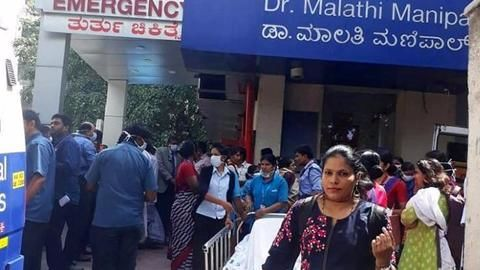 Minor fire breaks out in Bengaluru hospital, 40 patients evacuated