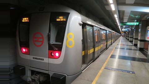 Smoke coming out of Delhi Metro's AC vent causes panic
