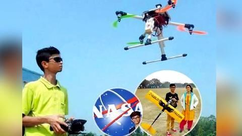 Bengaluru boy tests drones developed by scientists on NAL grounds