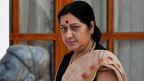 Sushma allows medical visa to PoK resident, slams Pakistan