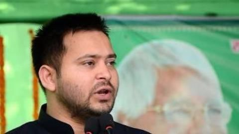 Lalu's son accuses Nitish of indulging in opportunism