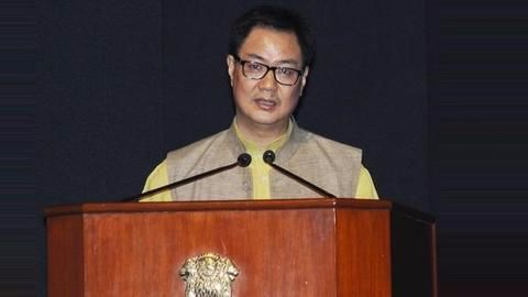 Inclement weather forced preventive landing for Rijiju's chopper too