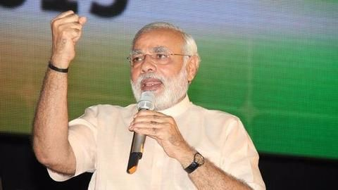 Modi says corrupt won't be spared, 1 lakh firms de-registered