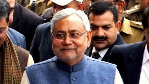 Nitish Kumar wins the floor test by 131 votes