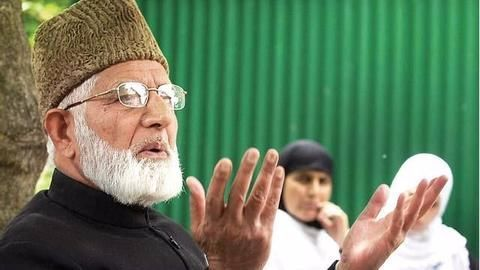 What exactly is Geelani's stand over Amarnath Yatra?