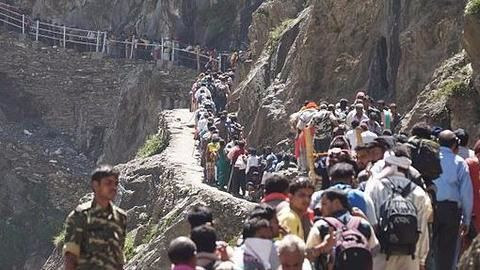Amarnath: 16 pilgrims killed after bus falls into gorge