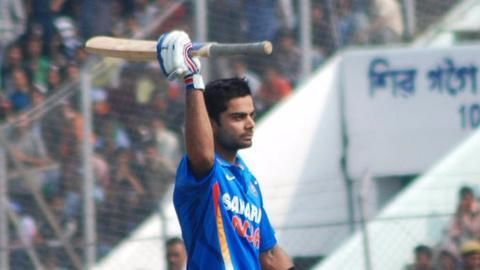 Records broken in 5th ODI between India and Sri Lanka