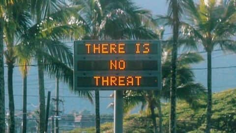 Hawaii: False emergency warning of ballistic missile attack triggers panic