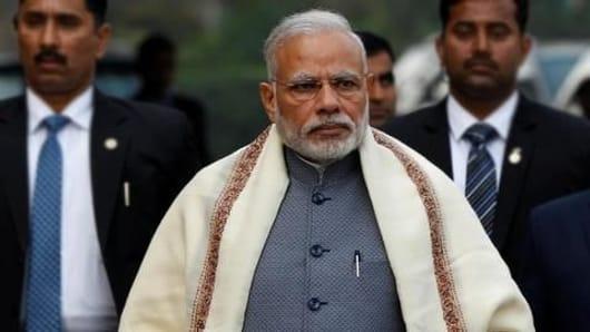 How did Modi fare in Gallup International Survey?