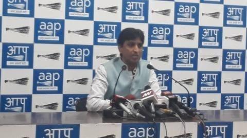AAP's Kumar Vishwas sulks after being denied RS nomination