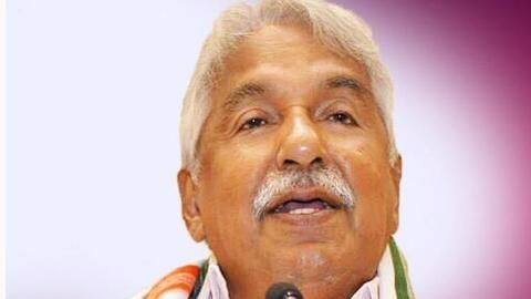 Solar scam: LDF government orders probe against ex-CM Oommen Chandy
