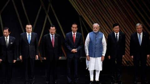 How is PM Modi wooing ASEAN countries?