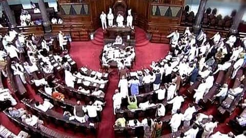 What record did Rajya Sabha make today?