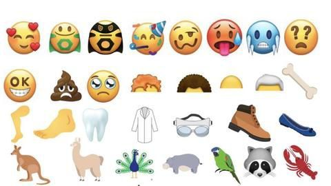 Emojis for 2018 are here. Check them out!