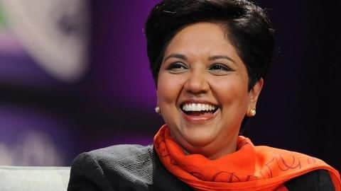 Who are you trolling? Indra Nooyi? But why?