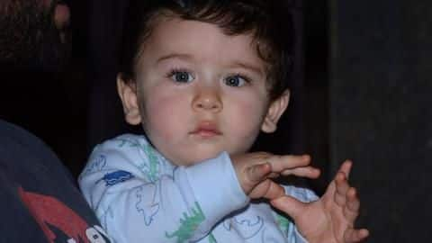 Taimur Ali Khan turns one: To the knight in making