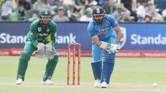 SA vs Ind 5th ODI: First Innings Report