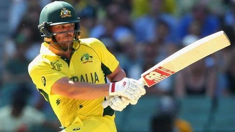 ICC T20 Rankings: Finch claims the top spot