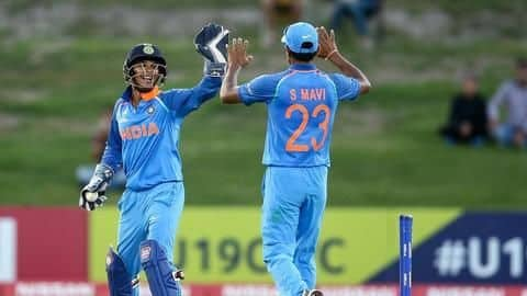 Indian colts thrash Australia in Under-19 WC