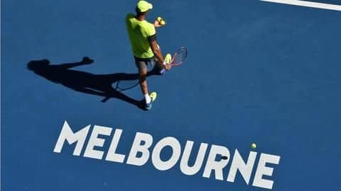 It's 'hot hot hot' at the Australian Open