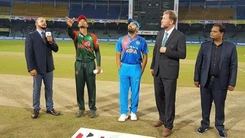 India vs Bangladesh T20I: Records broken