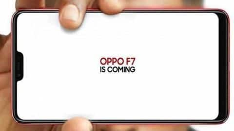 OPPO F7 with 25MP camera to launch on March 26