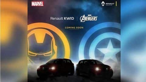 Renault partners with Marvel, launches superhero-themed car