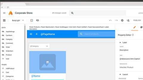 Google's online tool for building business apps becomes available