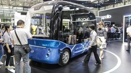 Baidu to produce autonomous buses for Japan