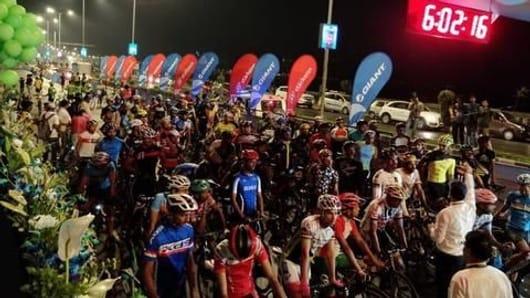 Saksham Cyclothon Mumbai held, over 6,000 participate
