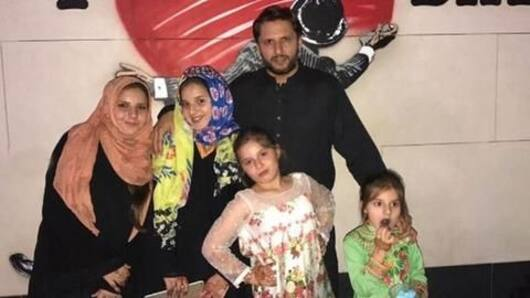 Shahid Afridi's daughters can't play outdoor games