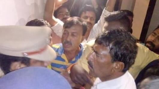 Telangana: Politician attempts suicide after police raid
