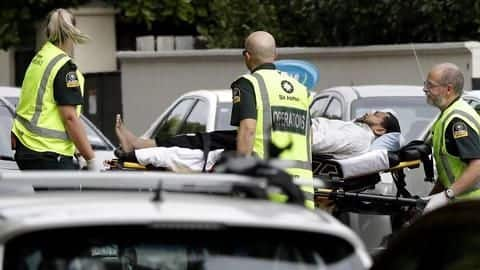 New Zealand: Gunman opens fire at mosques, several feared dead