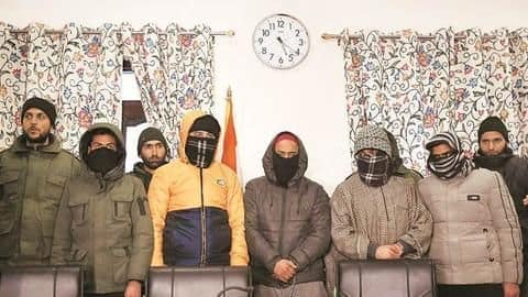 J&K: Terror attack averted before R-Day, 5 Jaish operatives arrested