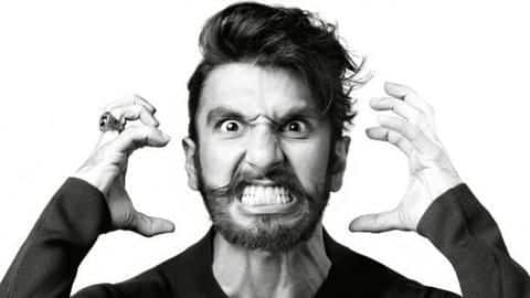 Watch: Ranveer Singh getting angry at man for rash-driving
