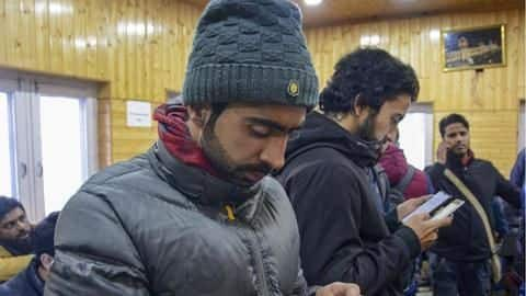 SC doesn't order to restore 4G Internet services in J&K